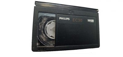 vhs-c compact vhs video tape with mould